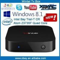 Buy cheap 2016 promotion intel quad core dual boot windows tv box with factory price from Wholesalers
