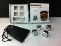 Buy cheap Stainless Steel Ice Cubes set of 4 from Wholesalers