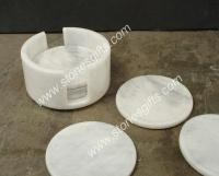 Buy cheap marble coaster for cup from Wholesalers