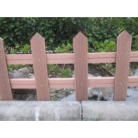 Buy cheap outdoor wpc fence like real wood from Wholesalers
