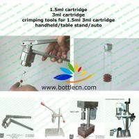 Buy cheap crimping tools machine for 8mm crimp tops 1.5ml 3ml cartridge from Wholesalers