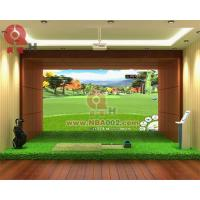 Buy cheap 3D Indoor Golf Simulator Game Machine Professional from Wholesalers