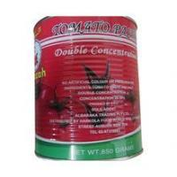 Buy cheap canned tomato paste double concentrated tomato paste from Wholesalers
