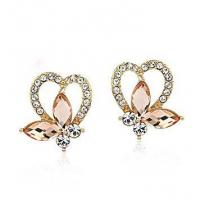 China Jewelry Styles Plated 14K Earrings Jewelry Manufacturer Item: E0084 on sale