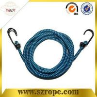Buy cheap good quality bungee cord with double metal hook Pass 88LBS test from Wholesalers