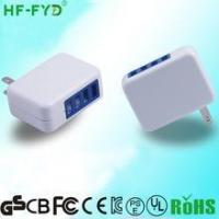 Buy cheap with folding plug USA JP FY0502000 5V 2A usb power adapter from Wholesalers