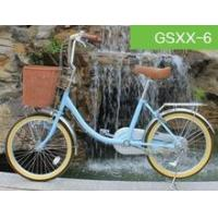 2015 new 20 inch iron city bike with single speed for outdoor sport