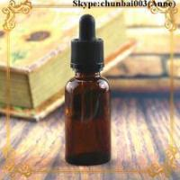 Buy cheap 50ml glass dropper bottle amber e-juice bottle child safety cap trade assurance from Wholesalers