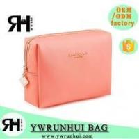 Buy cheap Wholesale Latest Designer PU Leather Cosmetic Bag Promotional from Wholesalers
