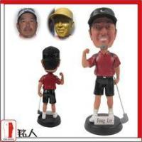"Sports Bobblehead 7"" customized personalized golfer bobble head"