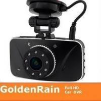 China Newest AMBARELLA chipset Real full hd car dvr camera with gps logger on sale