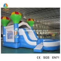 2016 popular kids bouncer with slide inflatable combo commercial inflatable combo