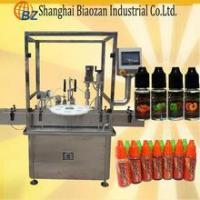 China vapor e cig juice filling machine/e cig juice bottle filling capping machine on sale