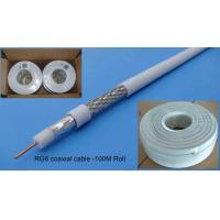 Buy cheap CCTV Series 0.8mm CCS RG6/RG6U Coaxial Cable from Wholesalers