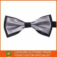 China Best Selling Shiny Satin Man Bow Tie factory