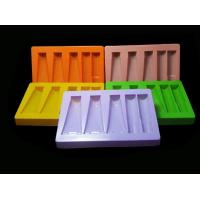 China Customized Clear Cosmetic Blister Plastic Packaging Tray With Dividers on sale