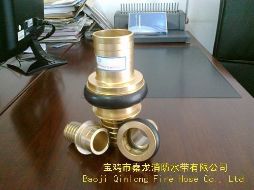Quality fire hose coupling MACHINO TYPE COUPLING for sale