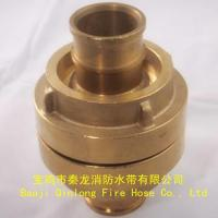 Buy cheap fire hose coupling Storz type brass Coupling from Wholesalers