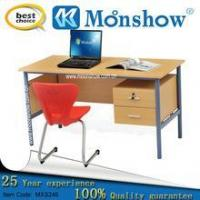 Buy cheap Teachers' workbench Teacher wood metal frame desk with 2 drawers from Wholesalers