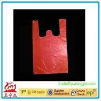 2016 plastic gift bag shopping HDPE Printed T-shirt bags made in China