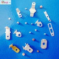 Buy cheap Precision stamping parts bimetal contact rivet for automotive electrical appliance from Wholesalers