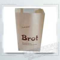 Bakery Paper Packing Bag with Transparent Window