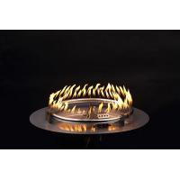 China Outdoor Stainless Steel Natural Gas or LP Fire Pit Ring Burner and Flat Pan Kit on sale