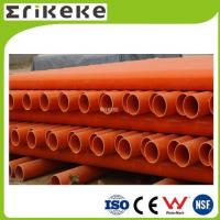 PVC pipe and fittings Low price colored electrical pvc pipe sizes