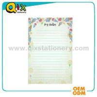 Buy cheap Offset Printing Custom made A5 company letter head with you logo from Wholesalers