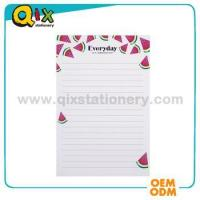 Buy cheap personalized printed notepad custom from Wholesalers