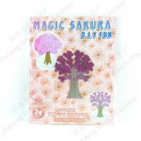 Magic mini growing Sakura with kraft paper NO.:S6-37,SQ-37,SZ-37