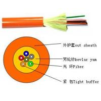 Buy cheap Distribution tight buffer optical cable(GJFJV) from Wholesalers