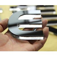 China Flat Cut Acrylic Letter Sign factory