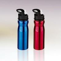 750ml single wall stainless steel water bottle with straw drinking mouth C011054