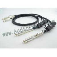 Buy cheap AudioCrast AQ Wel Signature RCA Audio Interconnect with 72V DBS from Wholesalers