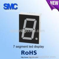 "Buy cheap 0.39"" single digit green color7 segment LED display manufacturer from Wholesalers"