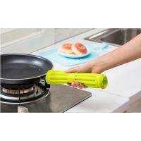 Buy cheap silicone antiskid quadrate versatile heat resistant placemat from Wholesalers