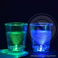 Quality LED Flashing Liquid Induction Glass_GFE-0418 wholesale