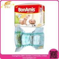 Buy cheap Super dry diaper in bulk manufactures baby diaposable diaper in Guangzhou from Wholesalers
