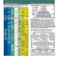 Buy cheap Alkaline Food Chart 8 inch x 8 inch from Wholesalers