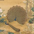 Buy cheap Animals Long-haired Dog Beneath Blossoms, Giuseppe Castiglione, Qing Dynasty from Wholesalers
