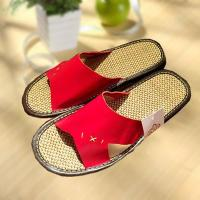 Buy cheap Household comfortable couple leather slipper from Wholesalers