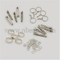 China 1Set Assorted Iron Findings including 5pcs Iron Flat Alligat...(IFIN-X0004) factory