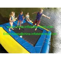 Buy cheap water games amusement water park inflatable water trampoline-WG-012 from Wholesalers