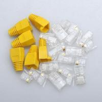 Buy cheap RJ45 connector 8p8c plug CAT5e CAT6 from Wholesalers