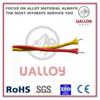 China Fiberglass Insulated N Type Thermocouple Cable on sale