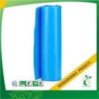 Buy cheap Blue Bin Liner Biodegradable Garbage Bag on Roll Model No:BPB-BL-28 from Wholesalers