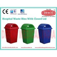 Buy cheap PLASTIC WASTE BIN CLOSED LID WBPL 101 from Wholesalers
