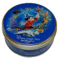 Buy cheap Round customized design decorative cookie cake tin can from Wholesalers