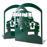 China Land Rover Design Metal Bookends factory